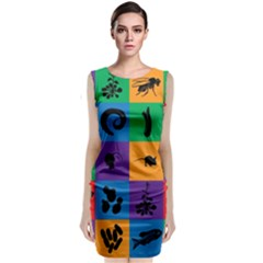 Elife Sleeveless Velvet Midi Dress by Jojostore
