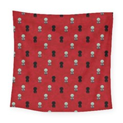 Cute Zombie Pattern Square Tapestry (Large)