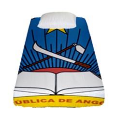National Emblem Of Angola Fitted Sheet (single Size)