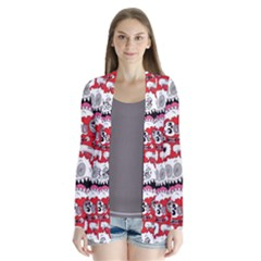Another Monster Pattern Cardigans by Jojostore