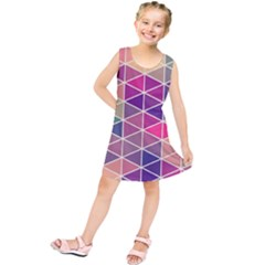 Chevron Colorful Kids  Tunic Dress by Jojostore