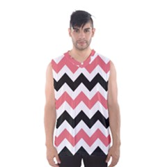 Chevron Crazy On Pinterest Blue Color Men s Basketball Tank Top by Jojostore