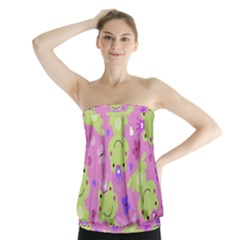 Frog Princes Strapless Top by Jojostore