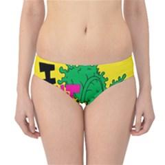 Idont Kale Think Hipster Bikini Bottoms