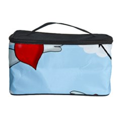 Love Hunting Cosmetic Storage Case by Valentinaart