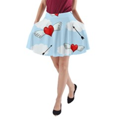 Love Hunting A Line Pocket Skirt by Valentinaart