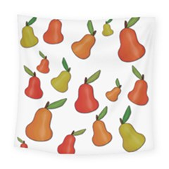 Decorative Pears Pattern Square Tapestry (large) by Valentinaart