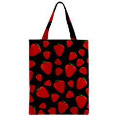 Strawberries Pattern Classic Tote Bag by Valentinaart
