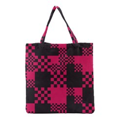 Cube Square Block Shape Creative Grocery Tote Bag by Amaryn4rt