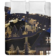 Christmas Advent Candle Arches Duvet Cover Double Side (california King Size) by Amaryn4rt