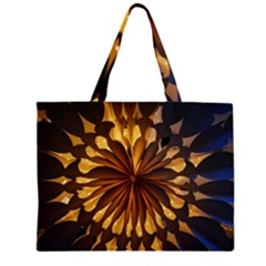 Light Star Lighting Lamp Zipper Large Tote Bag by Amaryn4rt