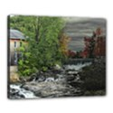Landscape Summer Fall Colors Mill Canvas 20  x 16  View1