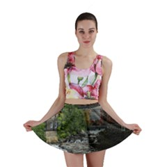 Landscape Summer Fall Colors Mill Mini Skirt by Amaryn4rt