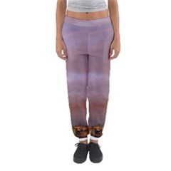 Rain Rainbow Pink Clouds Women s Jogger Sweatpants by Amaryn4rt