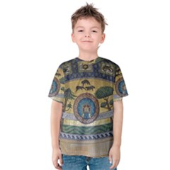 Peace Monument Werder Mountain Kids  Cotton Tee