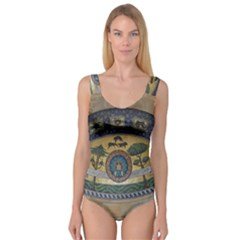 Peace Monument Werder Mountain Princess Tank Leotard  by Amaryn4rt