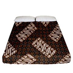 Batik Cap Truntum Kombinasi Fitted Sheet (queen Size) by AnjaniArt