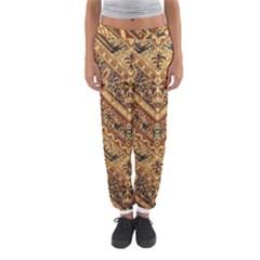 Batik Pekalongan Women s Jogger Sweatpants by AnjaniArt