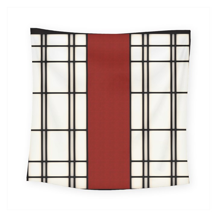 SHOJI - RED Square Tapestry (Small)