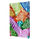 Zebra Colorful Abstract Collage Apple iPad Mini Hardshell Case View3