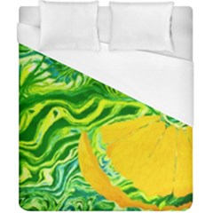 Zitro Abstract Sour Texture Food Duvet Cover (california King Size) by Amaryn4rt