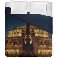 Dresden Semper Opera House Duvet Cover Double Side (california King Size) by Amaryn4rt