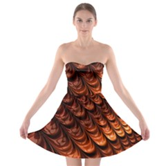 Fractal Mathematics Frax Strapless Bra Top Dress
