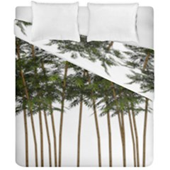 Bamboo Plant Wellness Digital Art Duvet Cover Double Side (california King Size) by Amaryn4rt
