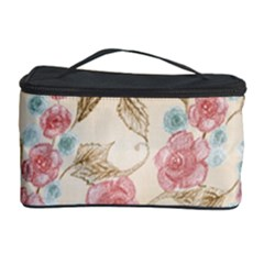Background Page Template Floral Cosmetic Storage Case