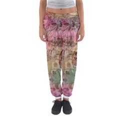 Texture Background Spring Colorful Women s Jogger Sweatpants by Amaryn4rt