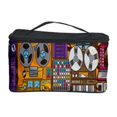 Rol The Film Strip Cosmetic Storage Case by AnjaniArt