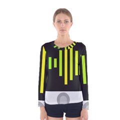 Audiobus Women s Long Sleeve Tee by Jojostore