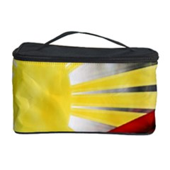 Blue Red Yellow Colors Cosmetic Storage Case by Jojostore