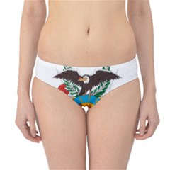 Coat Of Arms Of Bolivia  Hipster Bikini Bottoms