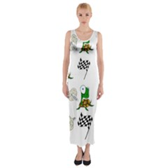 Speed Fitted Maxi Dress by Valentinaart