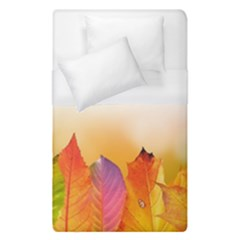Autumn Leaves Colorful Fall Foliage Duvet Cover (single Size) by Amaryn4rt