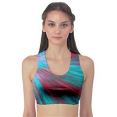 Background Texture Pattern Design Sports Bra