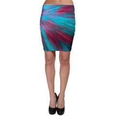 Background Texture Pattern Design Bodycon Skirt