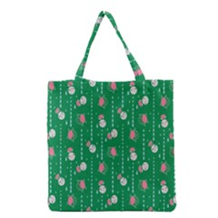 Pig Face Grocery Tote Bag by Jojostore