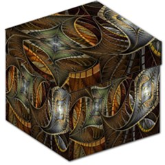 Mosaics Stained Glass Storage Stool 12   by Jojostore