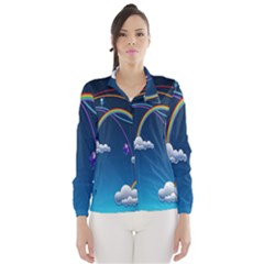 Rainbow Wind Breaker (women) by Jojostore