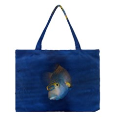 Fish Blue Animal Water Nature Medium Tote Bag
