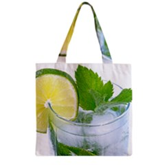 Cold Drink Lime Drink Cocktail Grocery Tote Bag
