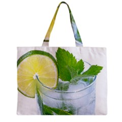 Cold Drink Lime Drink Cocktail Mini Tote Bag by Amaryn4rt
