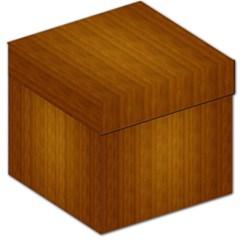 Simple Wood Widescreen Storage Stool 12   by Jojostore