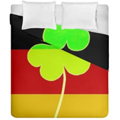 Irish German Germany Ireland Funny St Patrick Flag Duvet Cover Double Side (california King Size) by yoursparklingshop