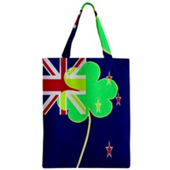 Irishshamrock New Zealand Ireland Funny St Patrick Flag Classic Tote Bag by yoursparklingshop