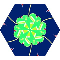 Irish Shamrock New Zealand Ireland Funny St Patrick Flag Mini Folding Umbrellas