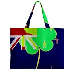 Irish Shamrock New Zealand Ireland Funny St Patrick Flag Mini Tote Bag by yoursparklingshop