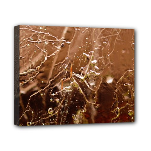 Ice Iced Structure Frozen Frost Canvas 10  X 8